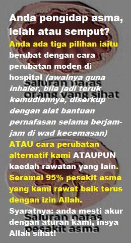 saluranNafasAsma260x480 Ubat Penawar Sesak Nafas Penyakit Asma Termujarab